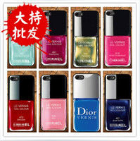 Wholesale TPU nail polish iPhone5 Apple phone shell mobile phone shell iphone4s S small fragrant soft shell