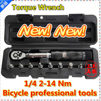 torque wrench - 2013 NEW quot Drive sets torque wrench Nm bicycle tool bike tool kit set bicycle repair tool