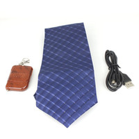 4G   4GB Spy Tie Necktie Camera Cam Mini Hidden Pinhole Camera DVR DV with Wireless Remote Control Audio Video Recorder Hot Sale
