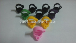 200pcs Silicone Ring For Ego Lanyard Vaporizer Necklace Holder Relacement E-Cigarette Necklace String Ring eGo t vv EVOD USB battery Series