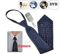 4G   Spy Necktie Camera 4GB Tie Necktie Mini Camera DVR with Remote Control Neck Tie Hidden Pinhole Camera Camcorder Video Recorder Newest