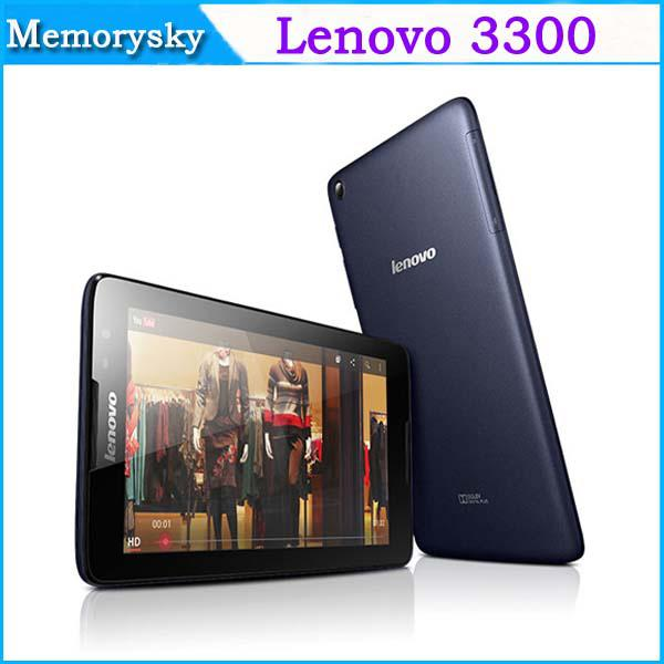 D'origine 7,0 pouces PC Lenovo A3300 Tablet avec Phone Call Android 4.2 MTK8382
