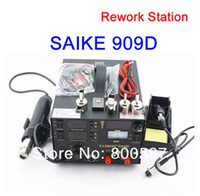 Wholesale SAIKE D IN1 REWORK STATION Hot Air Gun SMD Soldering Iron Power Supply bga welding machine