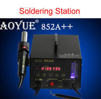 852A++ Yes brand new Free shipping 220V AOYUE 852A++ SMD Hot Air Gun Soldering station Desoldering Station,Aoyue852A++ Hot Air Rework Station