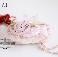 Wholesale OP NEW IN Manicure set Handmade lace fabric Nail art tools Nail clippers scissors Nail file Earpick Zipper bag