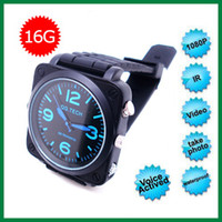Wholesale 1080P HD Camcorder Watch Video Camera IR Night Vision DVR Digital Video Recorder Sounds Activated Waterproof GB Model S7