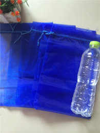 Free Shipping,50pcs lot Organza Bags Royal Blue 20x30cm,Christams & Wedding Gift Bags,Jewlery Bags Gift packing Pouches