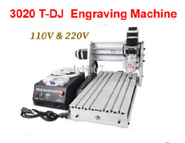 Wholesale CNC T DJ Mini Desktop Engraving Machine Drilling Milling Carving Router For PCB Wood Other Materials