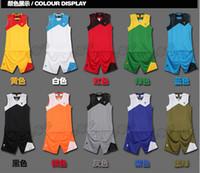 basketball jackets - Basketball Suit jacket and pants Men Summer Breathable Basketball Jersey Sleeveless Sportswear Training Service V neck XL XL k1166