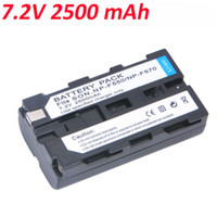 Wholesale Hot Sale mAh Camera NP F550 Camcorder Battery for Sony NP F330 NP F530 NP F570 NP F730 NP F750 Hi
