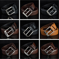 Wholesale 2014 Cheap men belt genuine leather belt style mix High Quality