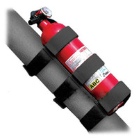 Wholesale 13305 Rugged Ridge Fire Extinguisher Holder Nylon Black Sport Bar Holder for Jeep