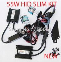 Wholesale 12v W W HID Xenon Slim Ballast KIT H1 H3 H7 H11 HB3 HB4