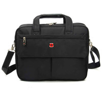 Wholesale Hot Sale SWISSGEAR Black Shoulder Business Bag mens Briefcase man bag shoulder bag Messenger bag business