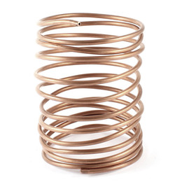 Wholesale Air Conditioner Copper Pipe Copper Tone Refrigeration Coiled Tubing Coil M Ft Long mm Dia Good quality
