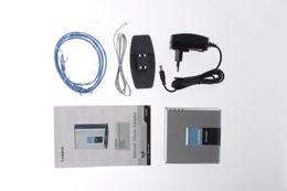 Wholesale DIHAO UNLOCKED PAP2T NA Linksys PAP2T Internet SIP VOIP Gateway D0252D Phone Ports Adapter