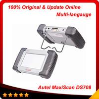 Wholesale 2014 Top Rated Professional Original MAXIDAS DS708 scanner update via internet autel scanner In stock