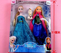 Wholesale Frozen Princess Inch Frozen Doll Frozen Elsa and Anna Frozen Toy Good Girl Gift Girl Doll Joint Moveable With Retail packaging