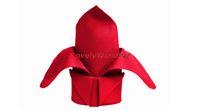 dinner napkin - 100 RED Table Dinner Napkin Square Pocket Handkerchief Multi Purpose Wedding Party Decor Hot cm