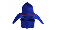 Wholesale 100pcs Royal Blue Napkin Polyester Plain Napkin x45cm for Wedding Events Party Restaurant Hotel