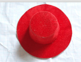 Wholesale Hen Party Plain Mini Top Hat for DIY Hair Fascinator Headwears cm Mini hat