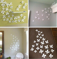 Wholesale 36pcs small medium large5cm Vivid D removable butterfly art decor wall stickers room house home party decoration qt020s