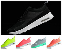 name brand shoes - 2014 Women Running Shoe New Design Max THEA PRINT Athletic Sports Shoe Brand Name Brand LOGO Women Sport Trainers Size