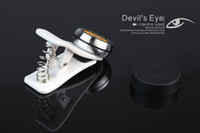 Wholesale Universal Wide Angle Degree Devil s Eye Fish Eye Clip Photo Lens Fisheye for iPhone iPad Samsung Note LG HTC etc JX