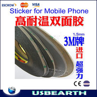 Yes double sided adhesive tape - mm width M Double Sided Adhesive Tape Sticker for Mobile Phone Samsung iPhone HTC Touch Screen LCD Dispaly