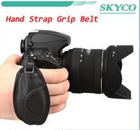 Wholesale Brand new High Quality Black Camera Wrist Strap Hand Grip for Canon Nikon Sony Olympus SLR DSLR