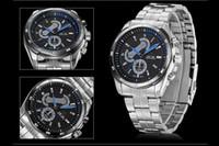 Sport Men's Stopwatch Original Japan Quartz Movement Stainless Steel Watch 3ATM New WEIDE Brand Luxury Watches Men Male Clock Military Watches