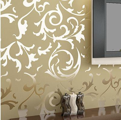 Luxury Velvet Victorian Wallpaper Background Wall Wallpaper Classic Wall Papers Home Decor For Living Room Embossed Damask Colour Wallpapers Computer