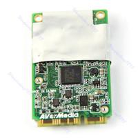 al por mayor tarjeta de tv analógica-Envío Gratis Avermedia A301 Mini PCI-E Hybird analógico digital DVB-T TV FM Tuner Card