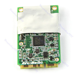 Wholesale Avermedia A301 Mini PCI E Hybird Analog Digital DVB T HDTV TV FM Tuner Card