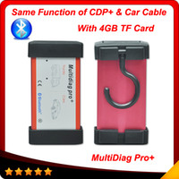 Code Reader For BMW Launch 2014 New Multidiag pro+ bluetooth with 4GB TF card = CDP+ with car cables 2013.3 version Multi-language Auto diagnostic tool