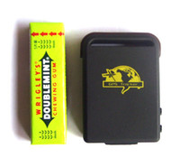 Wholesale Quad Band Mini Realtime GPS Tracker Drive TF card slot GPS GSM GPRS Tracking System