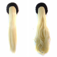 blonde ponytail wig