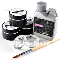 Wholesale OP Nail Art Crystal Acrylic Liquid Powder Set Starter Manicure Kit NA751