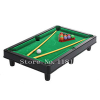 Wholesale New Mini Pool Ball Snooker Top Desktop Table Game Gadget Toy Novelty Gift Billiards Fitness for Children Kids