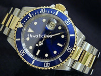 top brand - hot sale mens luxury watch top brand automatic watch steel gold dive watch