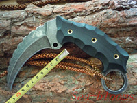 Wholesale 201408 New The one Busse War Boar II karambit knife with Kydex folder tactical knife pocket hunting knife top quality Christmas gift H