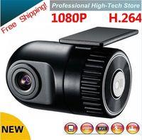 Wholesale HD P P D168 Smallest Car DVR Camera Security Degree Wide angle Lens V Cam recorder G sensor Monitor Video Voice Recorder Cam