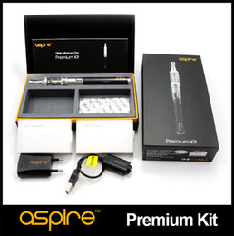 100% Genuine Aspire Premium Kit with 1000mah CF VV+ Battery And Nautilus Mini Tank Aspire eGo full Kit Free Shipping