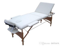 Wholesale Portable single folding wooden bed massage table For simple bedroom furniture