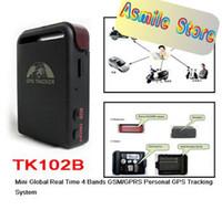 gsm / gprs gps tracker simcom sim340 Real-Time Car GPS Tracker TK102B