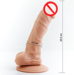 Wholesale Adult sex dildo vibrator toys for women big dick with suction cup huge silicone fake penis