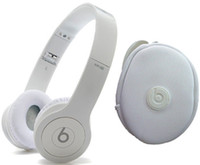 Wholesale 2014 Solo Over Ear Headphones with all white bag all white cable for Iphone ipod ipad OY