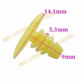 Wholesale 295 auto door seal nail buckle automotive plastic car sealing pressure clamps screw clamp clips