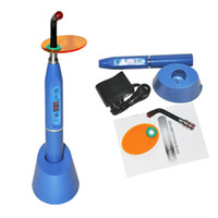 Wholesale New mw Dental W Wireless Cordless LED Curing Light Lamp blue