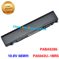 Wholesale New cell laptop battery for Toshiba R930 R935 R830 R700 R840 R845 R940 PA5043U BRS PABAS265 PA3984U PABAS256 PABAS236 V WH